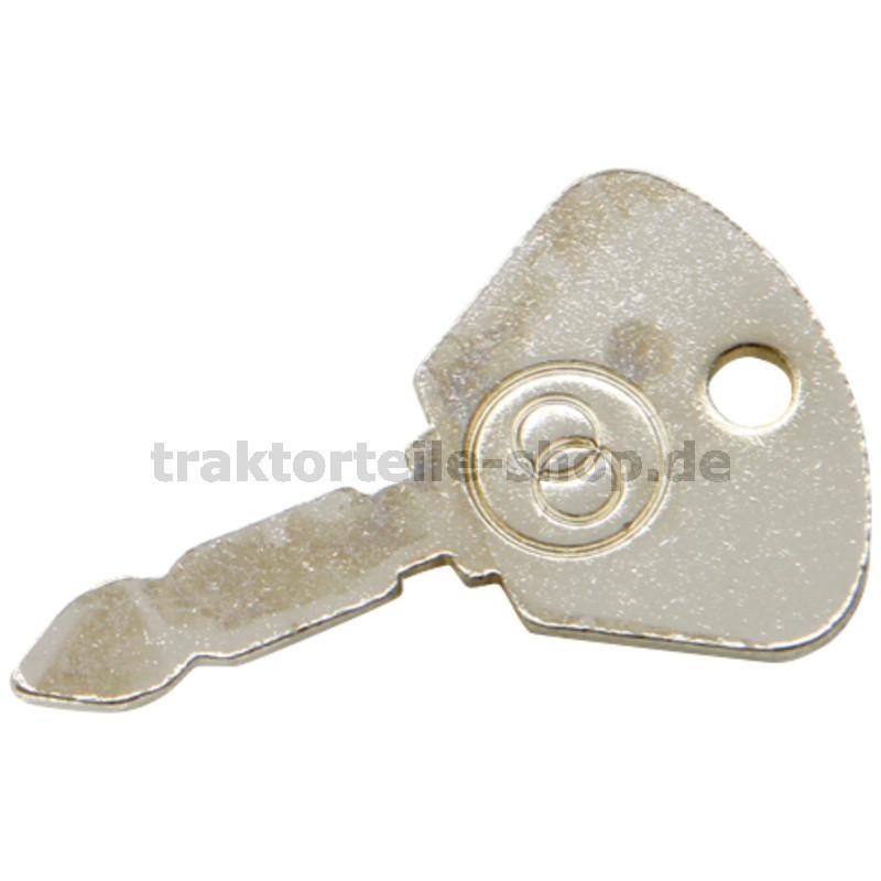 Zündschlüssel Schlüssel Bosch K80 für Zündschloss Deutz
